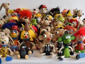 Figurky na pružině